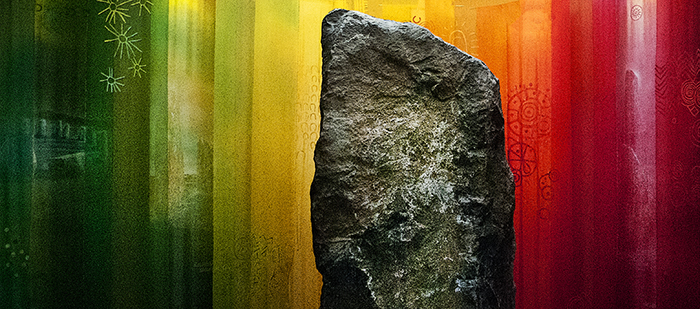 The Aura of a Standing Stone