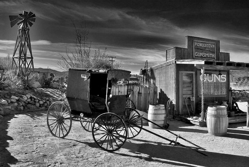Surrey & Gun Shop; Pioneertown