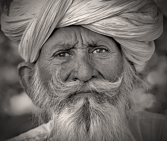 Bishnoi Villager; Rajasthan, India