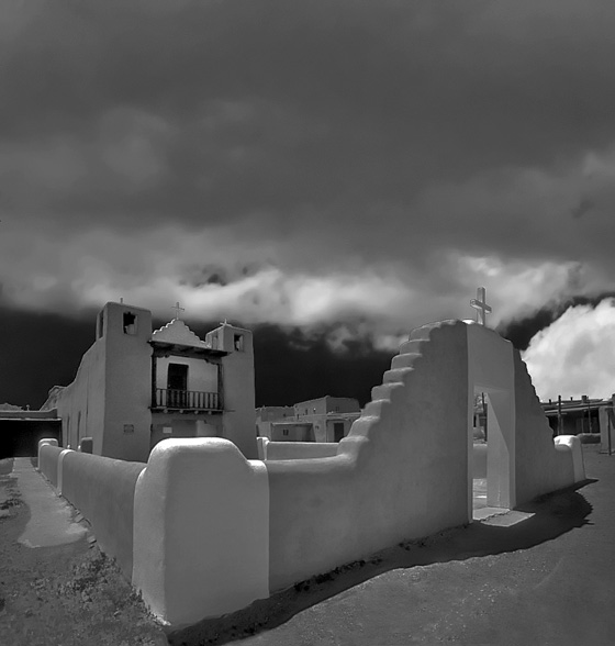 Clouds over Taos