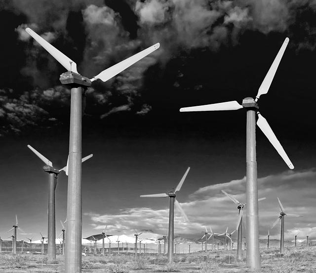 Wind Farm; Hwy 62