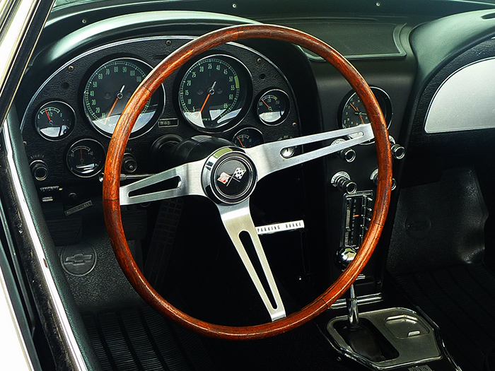 Vintage Sting Ray Interior
