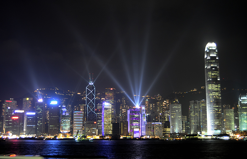 Laser-Light Show