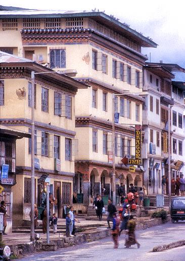 A Thimphu Street