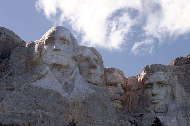 Mount Rushmore Cloud