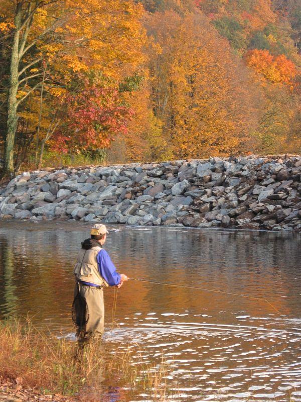 Fall Fishing in Pennsylvania