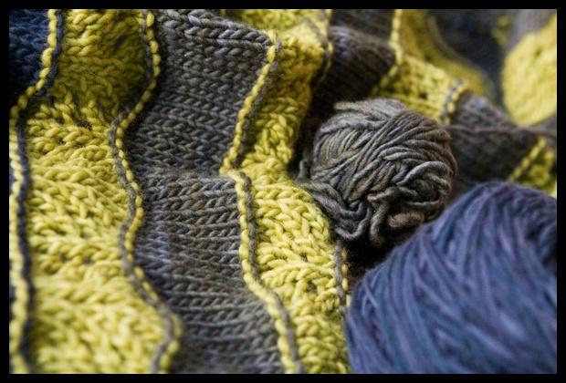 0034. (Paris Nights yarn shown in foreground)