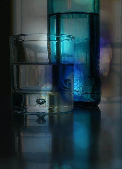 Eclats bleus