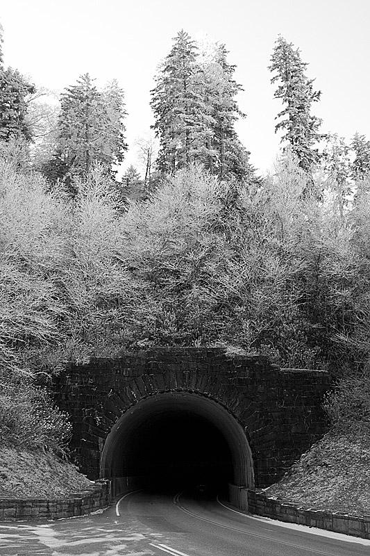 GSMNP Tunnel black and white.jpg