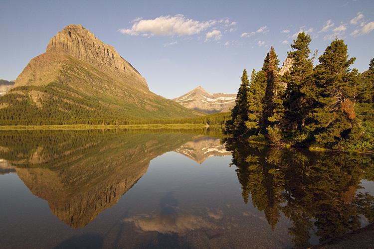 Lake Reflection at Many Glacier.jpg