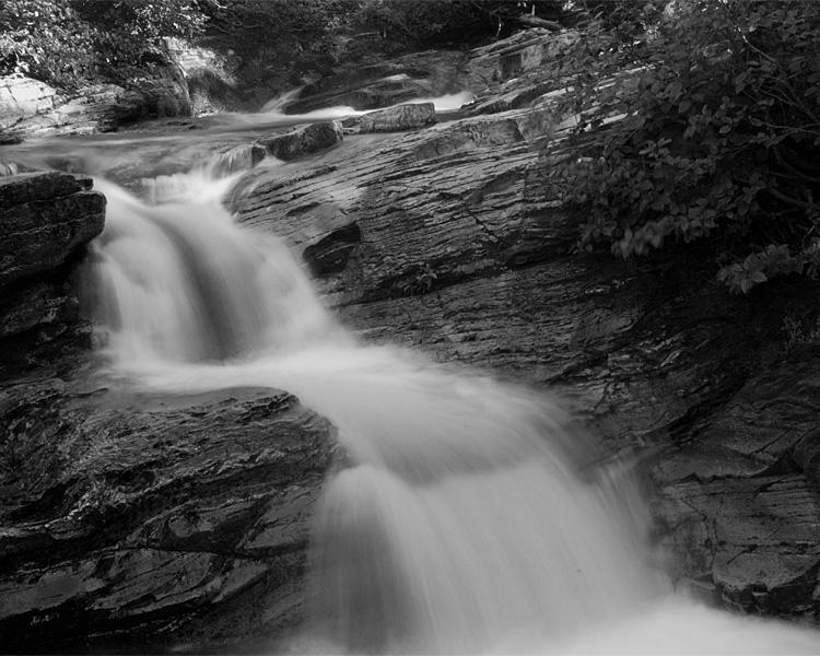 Ptarmigan Falls Black and White.jpg