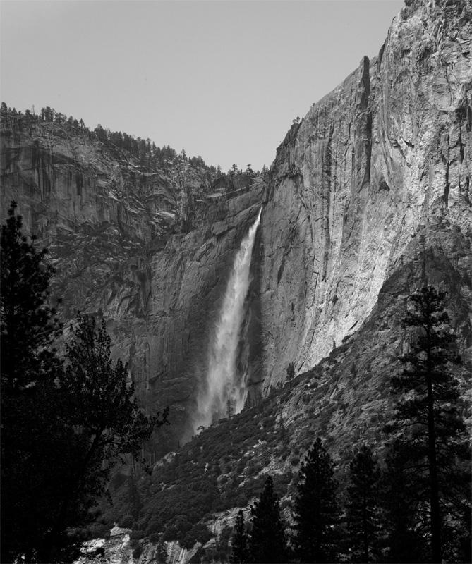 Yosemite Falls Black and White 2.jpg