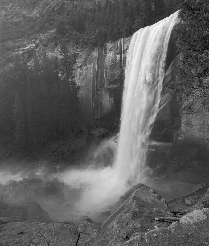 Vernal Falls Black and White.jpg