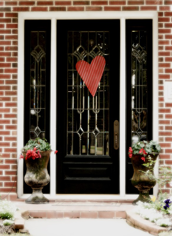 Day 21 ~ Valentine Door