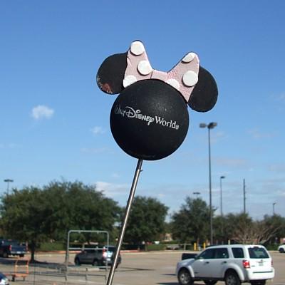 Pink Bow Disney