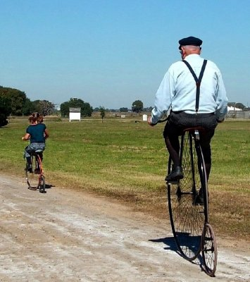 Bike Riders at the George Ranch