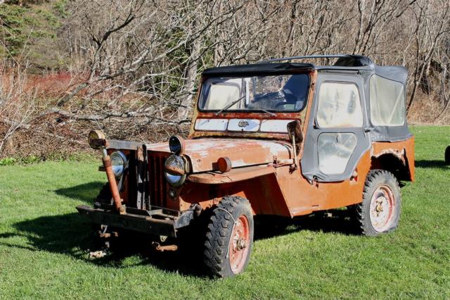 51 Jeep CJ-3A