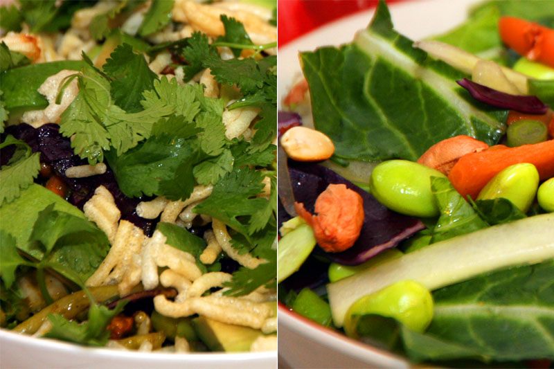 Thai Crunch Salad - CPK style