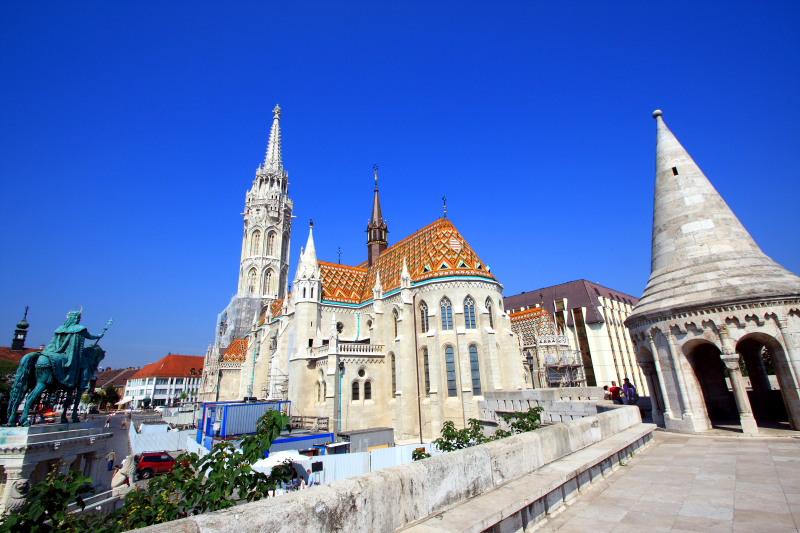 Matthias Church and Fishermans Bastion, Budapest