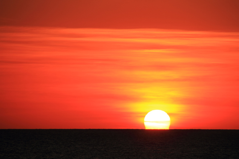 Sunset in Negril, Jamaica