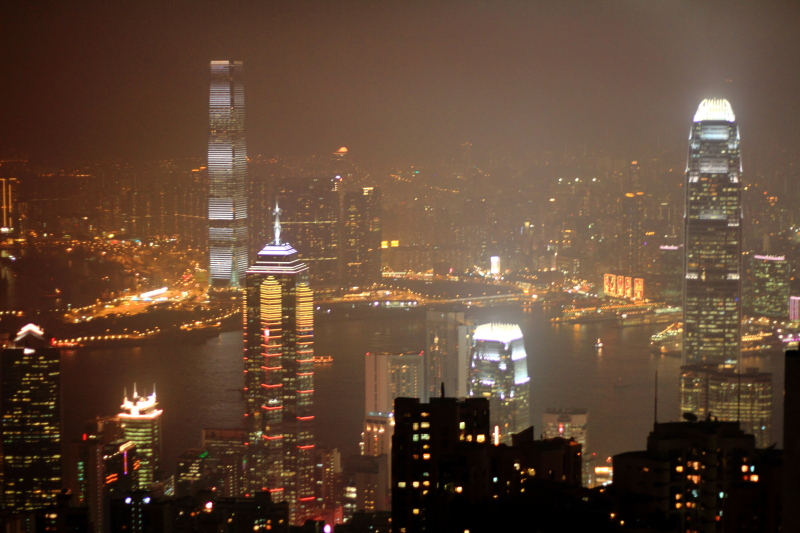 International Commerce Center, Two International Finance Centre, Central Plaza, Hong Kong