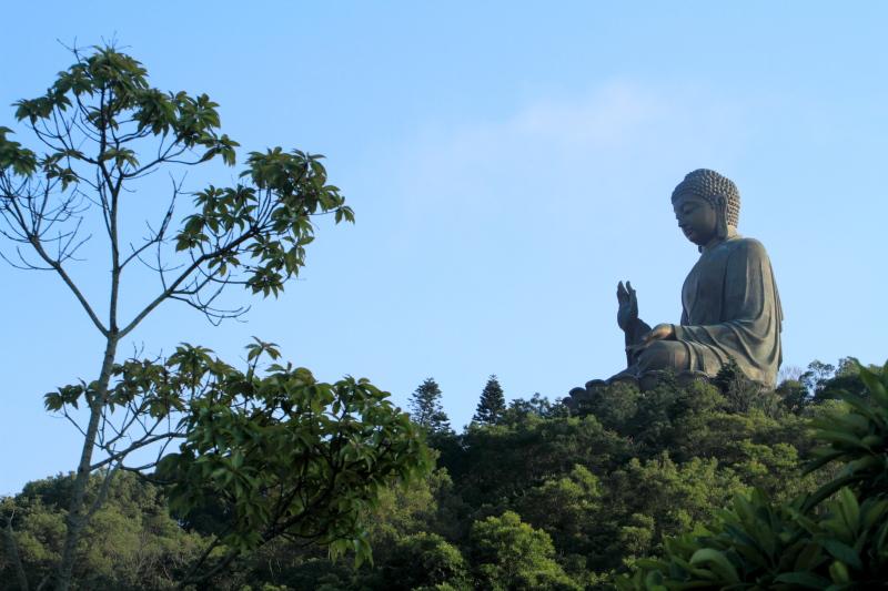 Tian Tan Buddha, Ngong Ping Village, Lantau Island, Hong Kong