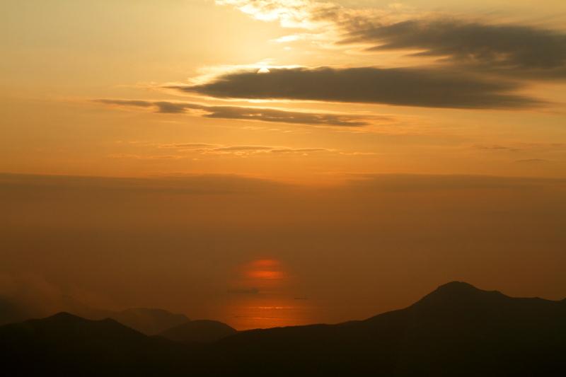 Sunset from Lantau, Hong Kong