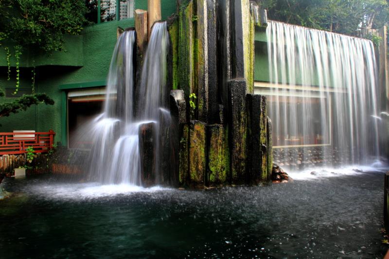 Waterfall, Chi Lin Nunnery, Nan Lian Garden, Diamond Hill, Kowloon, Hong Kong