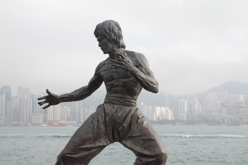 Bruce Lee, Avenue of Stars, Hong Kong