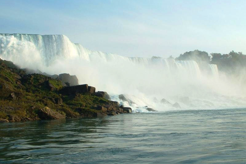 View from the Maid of the Mist, Niagara Falls State Park
