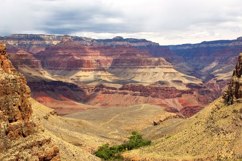 Indian Garden and Plateau Point at the Grand Canyon National Park