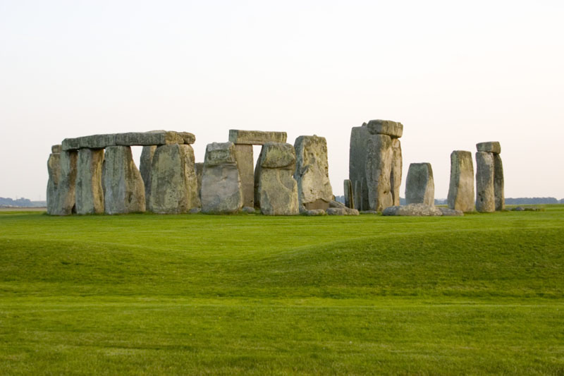 Stonehenge - a mysterious circle of stones