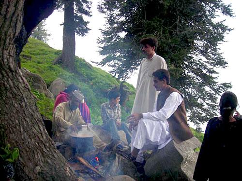 Picnic at Sudhan Gali