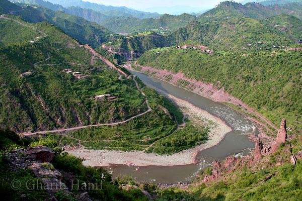 River Poonch in Kotli
