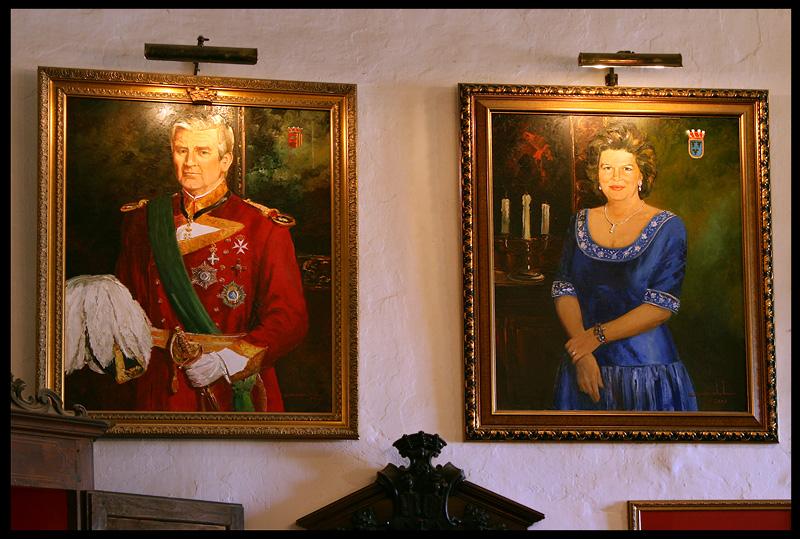 Inside Montsonis  Castle
