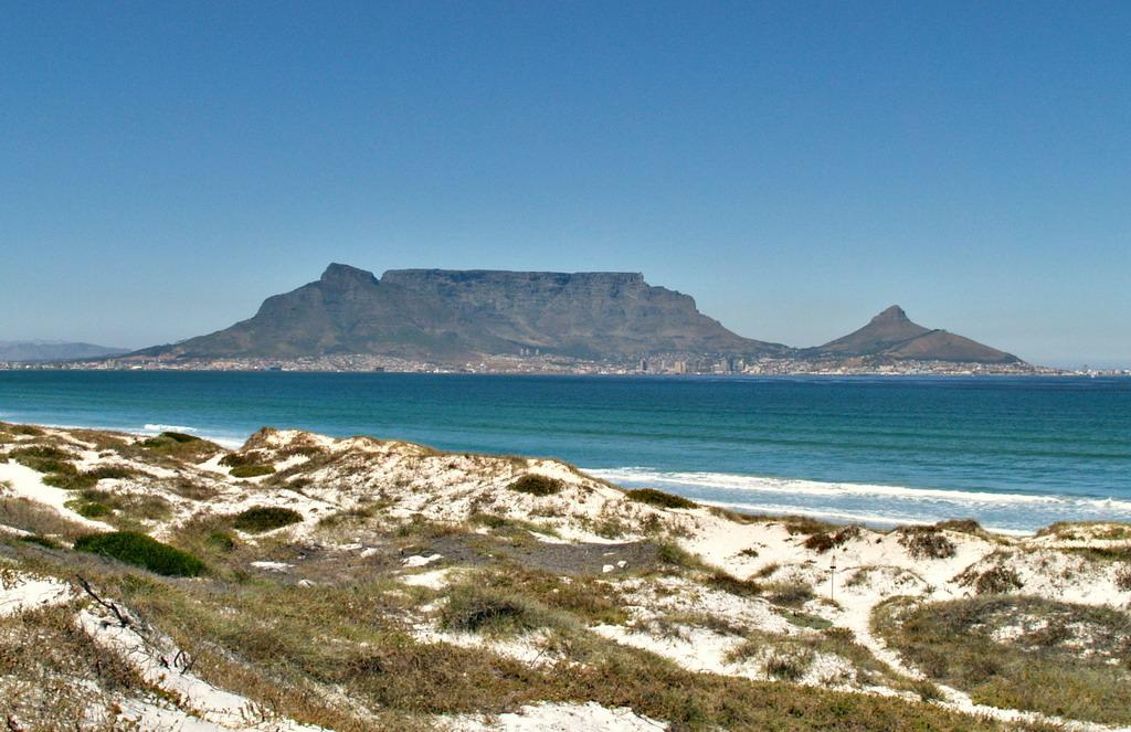 Table Mountain from Dolfin Beach