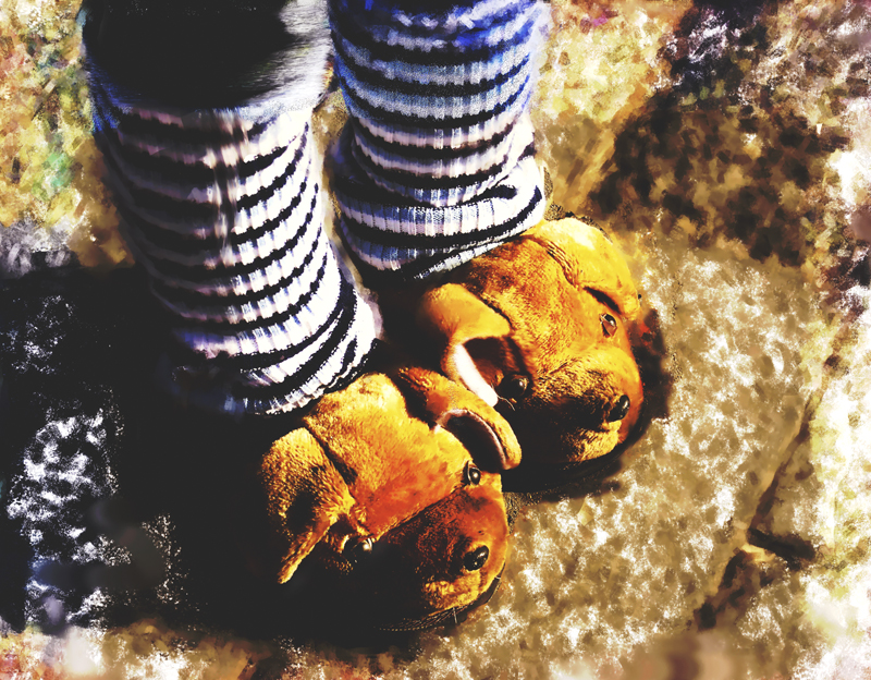 my leg warmers and climbing boots_Beijing China