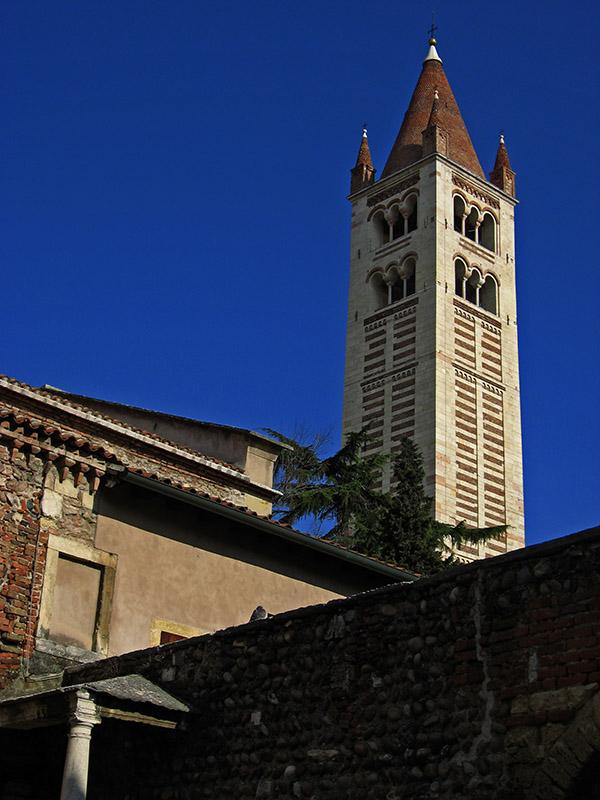 Basilica di San Zeno Maggiore, campanile .. 2421