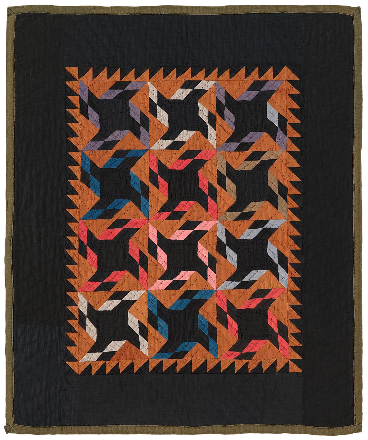 089: Original Pattern, Somerset County, PA c.1930  30x25