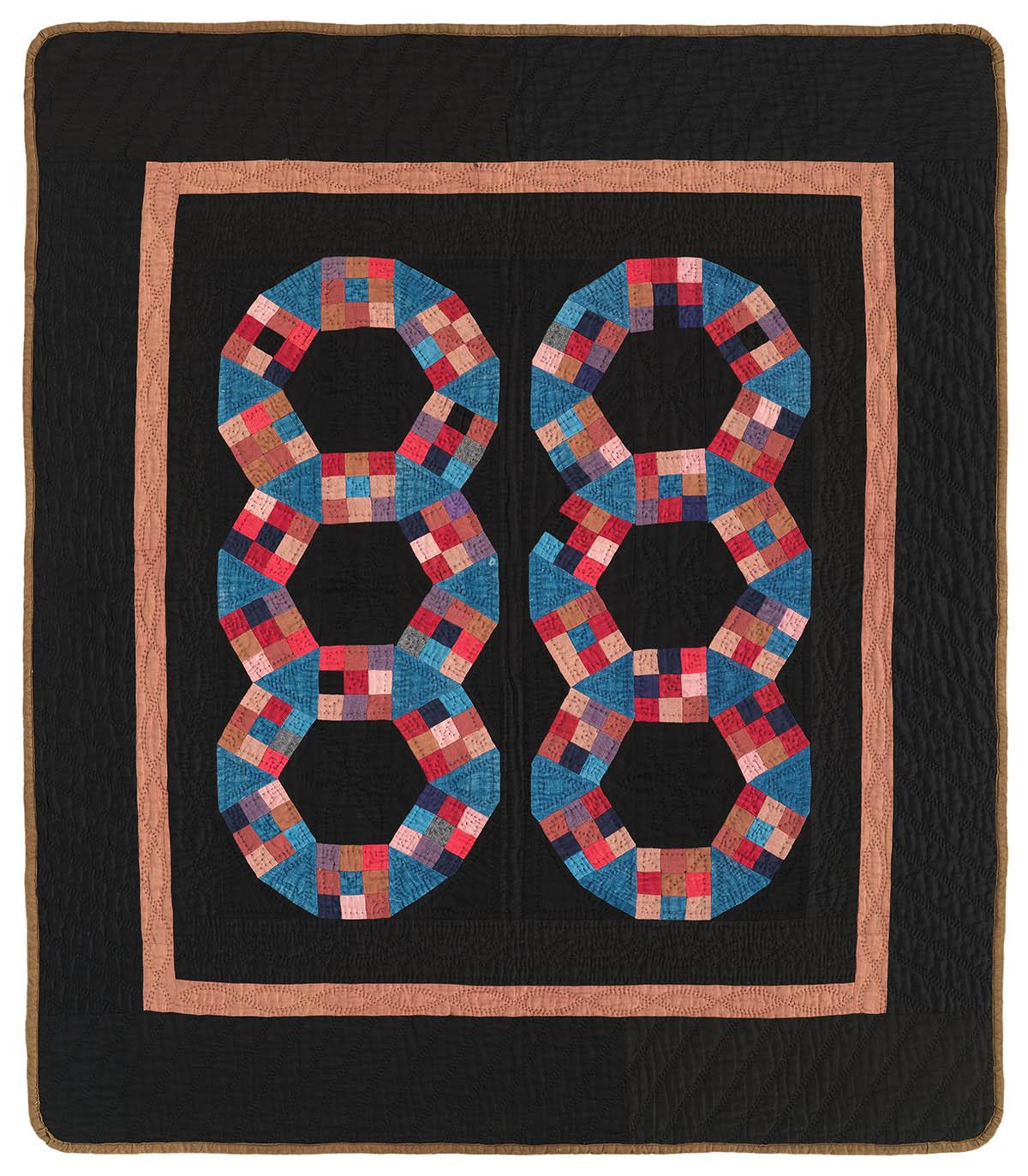 091: Original Pattern, Holmes County, OH  c.1930   35x39