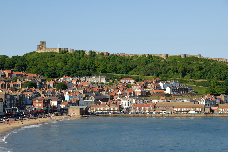 The Bay and Castle, Scarborough