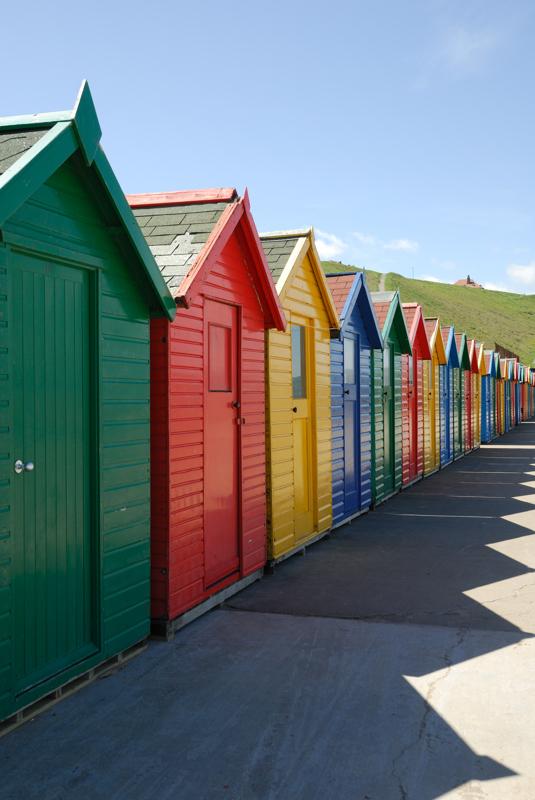 Beach Huts, Whitby