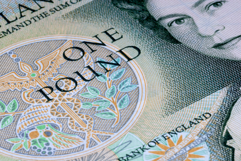 8 January: One Pound Note