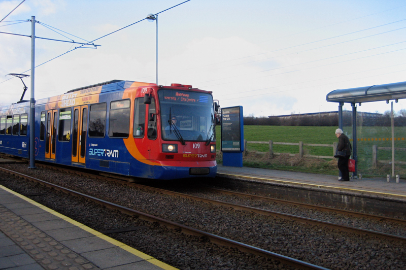 31 January: Sheffield Supertram