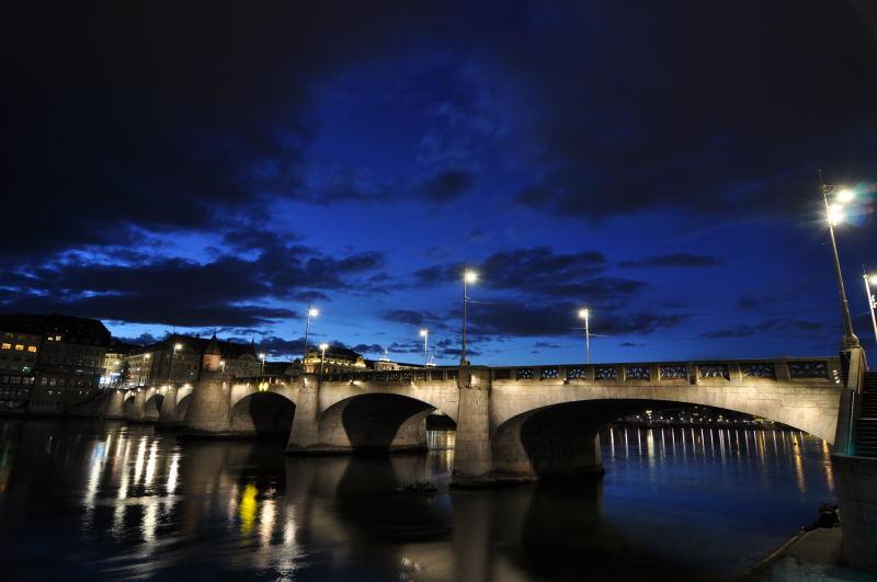 Dusk at Middle Bridge