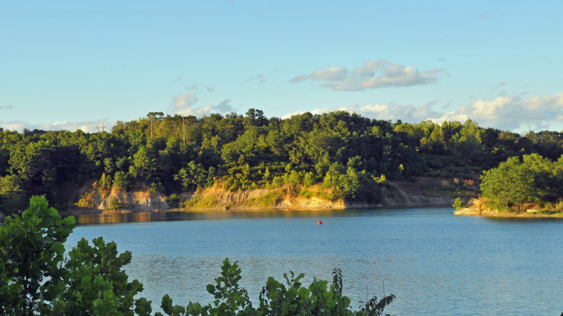 Gravel pit, Warren Co., Ohio