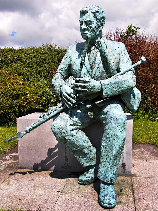 Patrick J Touhey - Famous Loughrea Uileann Piper
