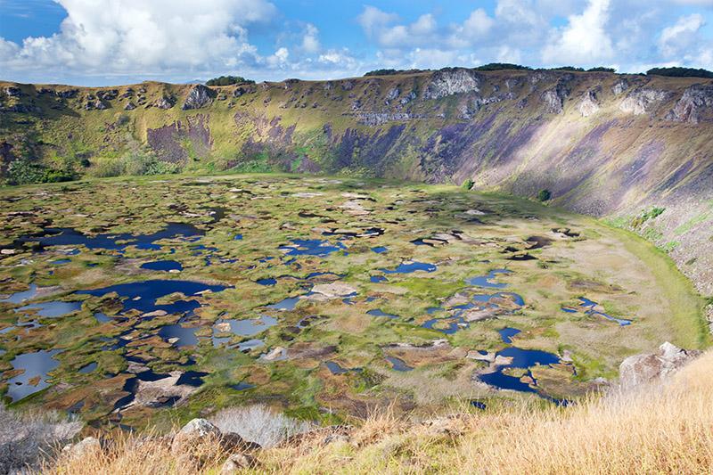 Rano Kau - Extinct Volcano