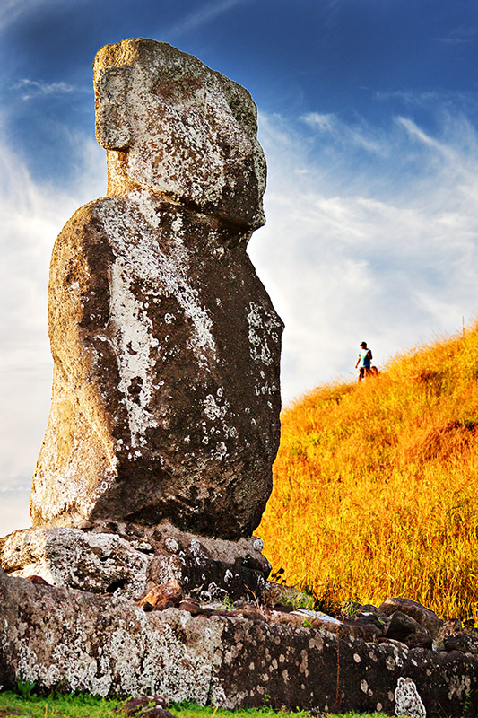 First Moai