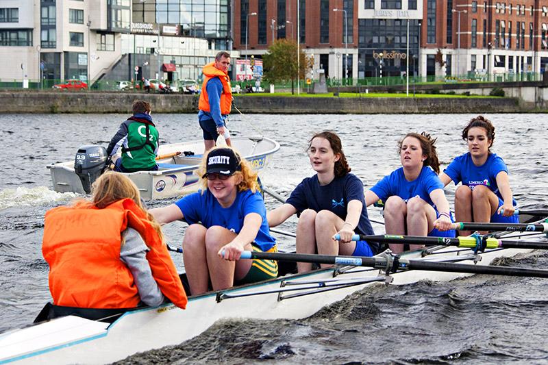 Leinster Ladies Quad Scull